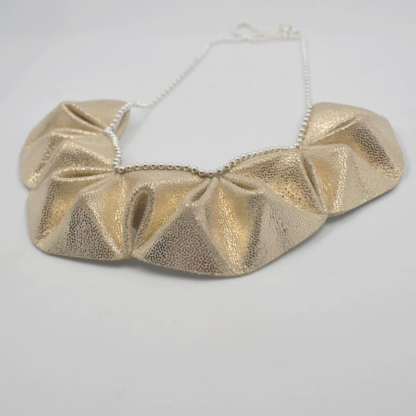 collier origami paillettes (3)
