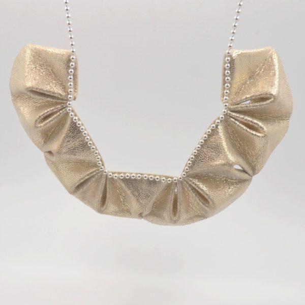 collier origami paillettes (5)