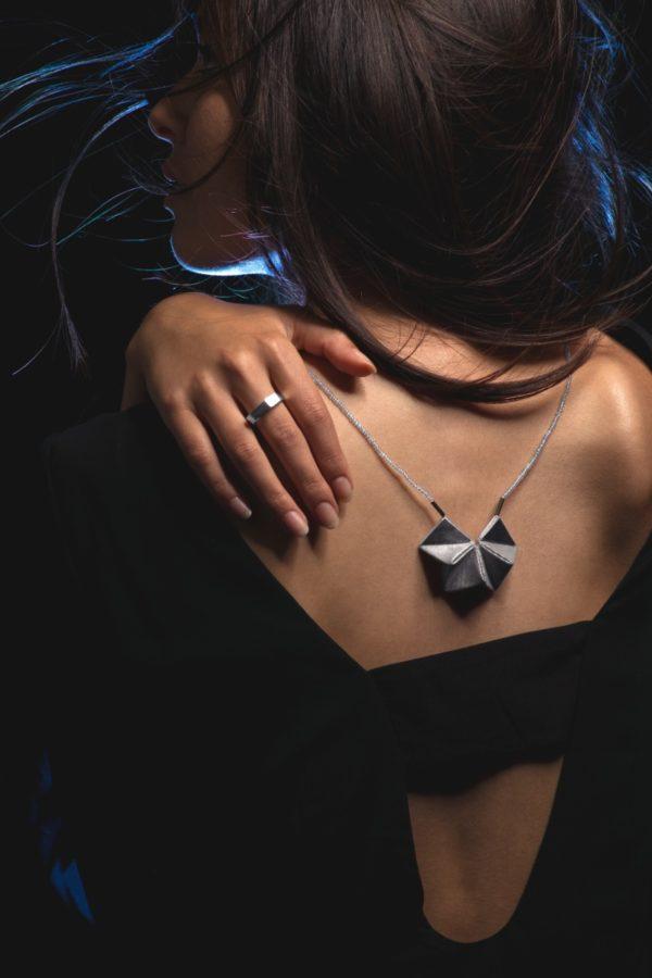 pendentif origami