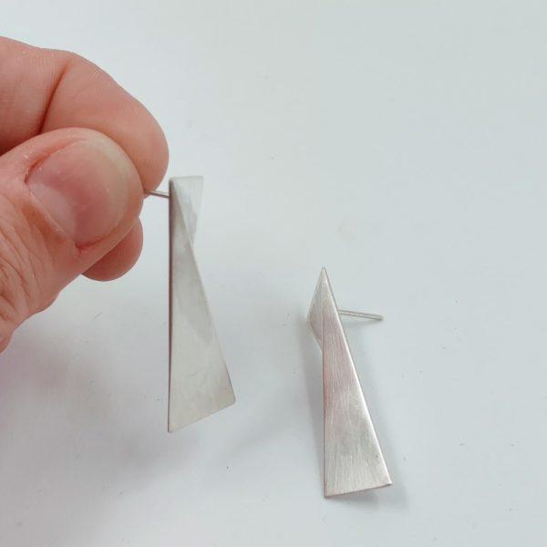 origami BO pendantes argent