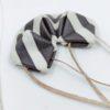 origami pendentif Black & White (1)