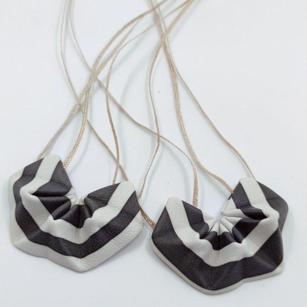 origami pendentif Black & White (3)